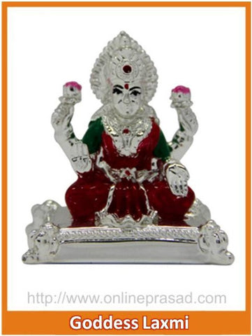 The Goddess Laxmi Idol - OnlinePrasad.com