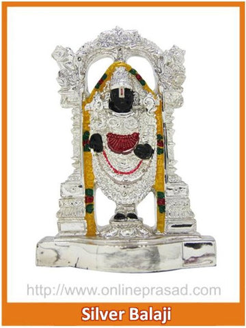 The Silver Balaji Idol , Zevotion - Sai Shagun, OnlinePrasad.com