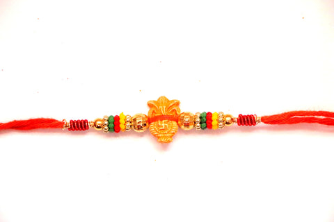 Kalash with Swastik design Rakhi , Zevotion Rakhis - Zevotion, OnlinePrasad.com