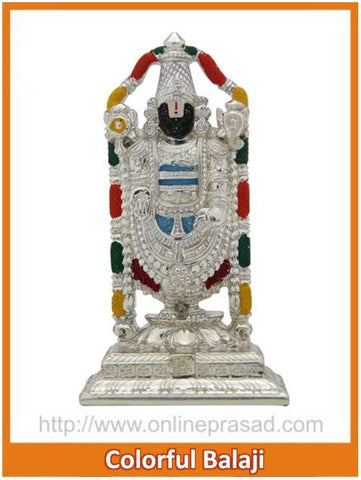 The Colorful Balaji Idol - OnlinePrasad.com