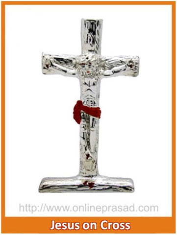 The Jesus On Cross Idol , Zevotion - Sai Shagun, OnlinePrasad.com
