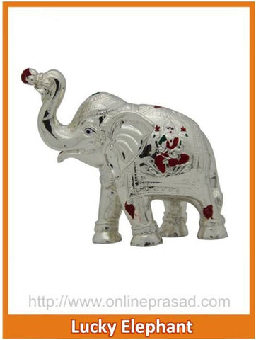 The Lucky Elephant Idol , Zevotion - Sai Shagun, OnlinePrasad.com