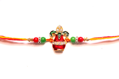 Decorated kalash rakhi , Zevotion Rakhis - Zevotion, OnlinePrasad.com