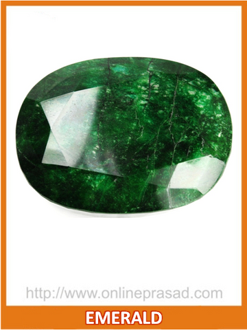 Emerald (Panna) , Zevotion Gemstone - Zevotion, OnlinePrasad.com  - 1