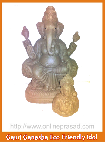Gauri Ganesha - Eco Friendly Idol
