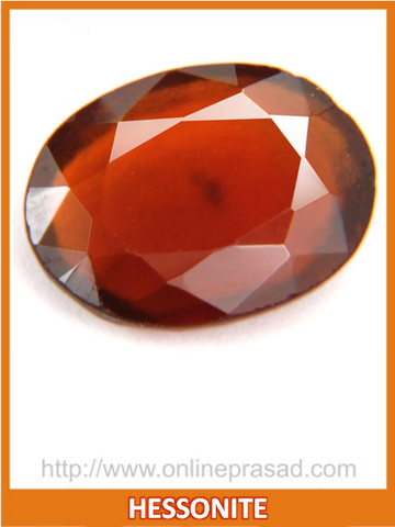 Hessonite (Gomed) - OnlinePrasad.com