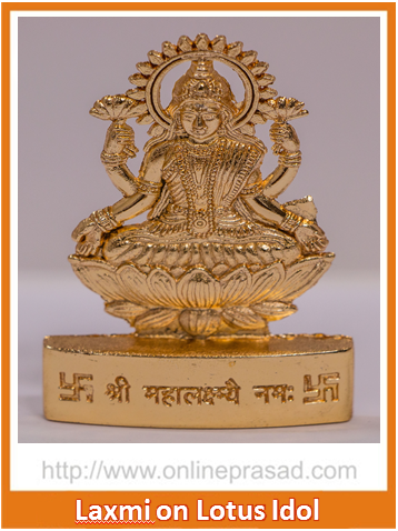Zevotion Maha Laxmi  on Lotus Idol - OnlinePrasad.com