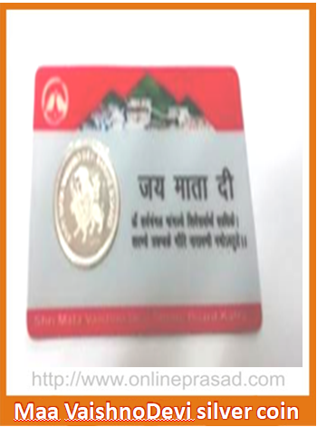 Silver Coin from Shri Mata Vaishno Devi Temple