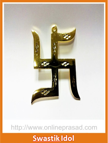 The Hanging Swastik Idol - OnlinePrasad.com