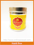 Kumkum Haldi Box-Set of 2 , Pooja - Cycle, OnlinePrasad.com  - 1