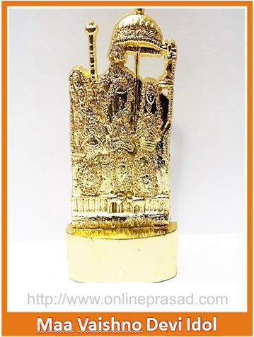 The Vaishno Devi Idol - OnlinePrasad.com