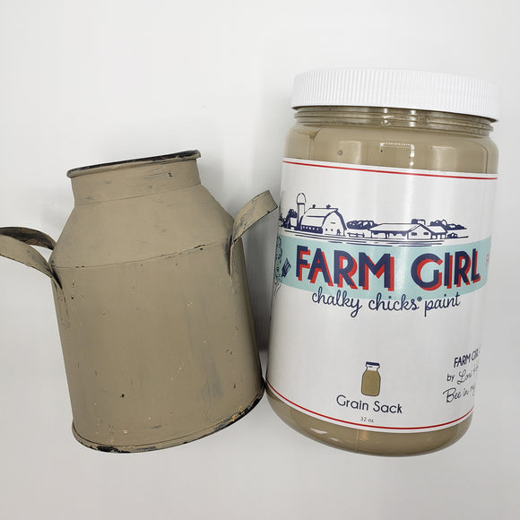 Grain Sack Chalky Paint (2 Sizes)