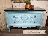 2 Chicks and a Toolbelt Chalky Chicks Furniture Paint Chalk Paint Aqua Bay