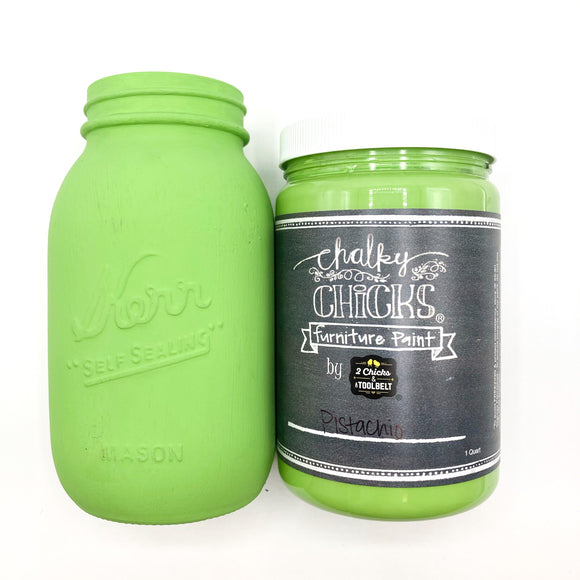 Pistachio Chalky Paint (2 Sizes)