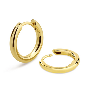 15MM HOOP EARRINGS