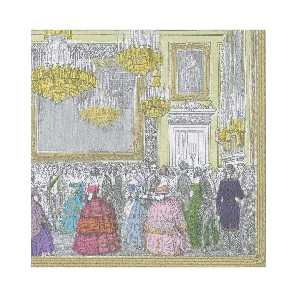 Caspari The Devonshire Ball Paper Luncheon Napkins - 20 Per Package