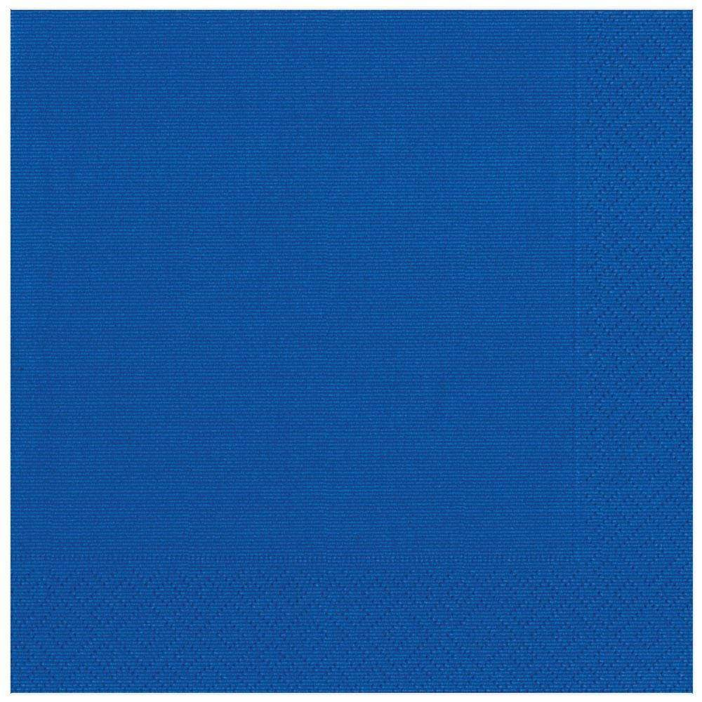 Caspari Grosgrain Paper Dinner Napkins in Marine Blue - 20 Per Package