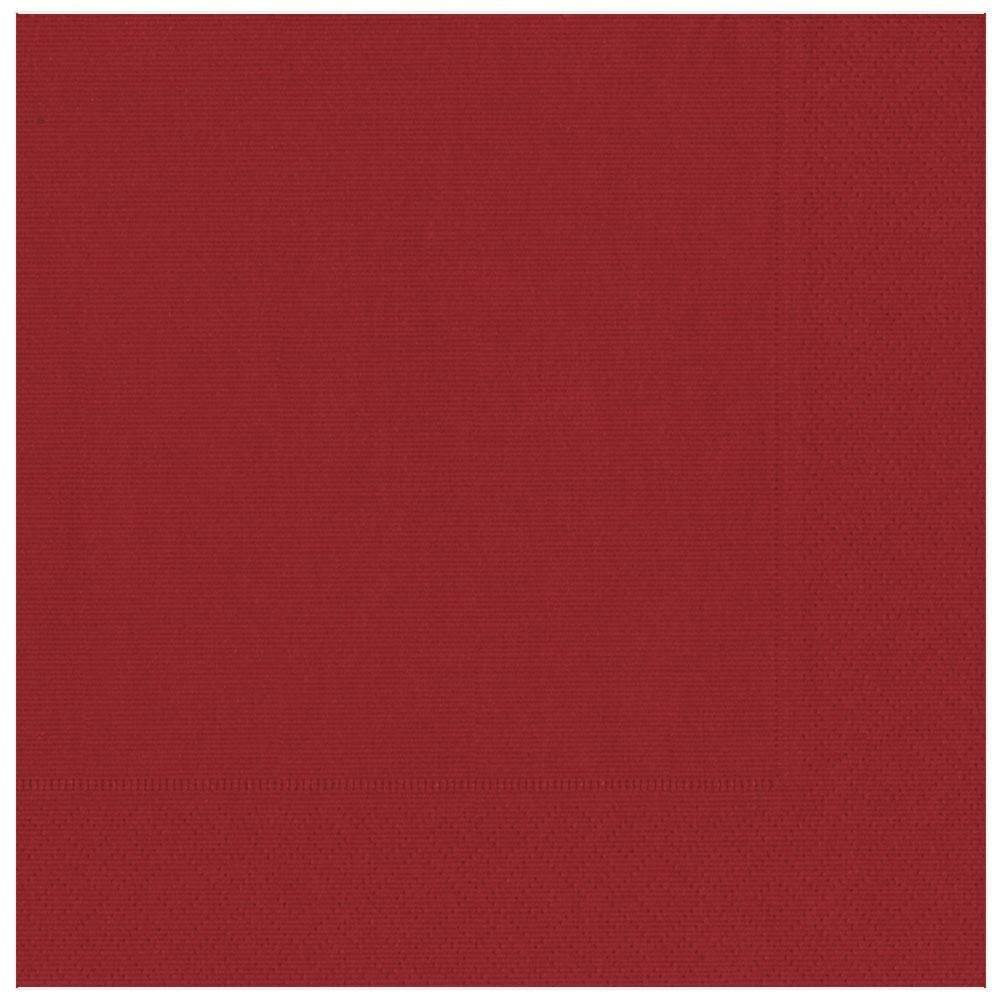 Caspari Grosgrain Paper Dinner Napkins in Red - 20 Per Package