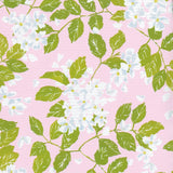 "Blanc De Blancs Reversible Gift Wrapping Paper in Petal Pink & Club Stripe Green - 30"" x 5' Roll"