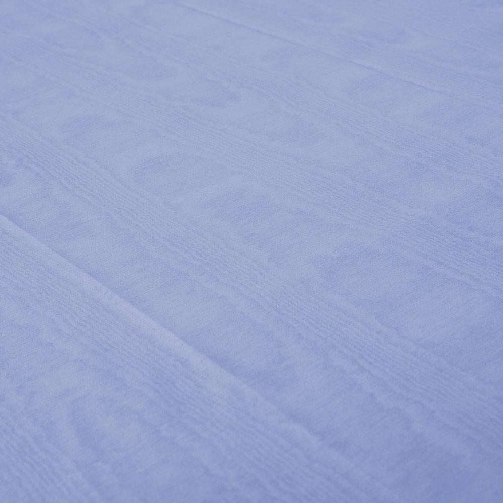Caspari Moiré Paper Table Cover in Lavender Blue - 1 Each