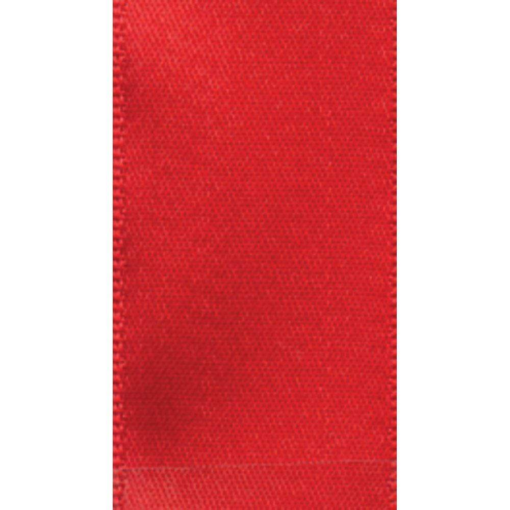 Caspari Narrow Red Satin Ribbon - 8 Yard Spool