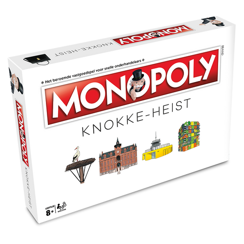Monopoly Knokke-Heist (levering begin december)