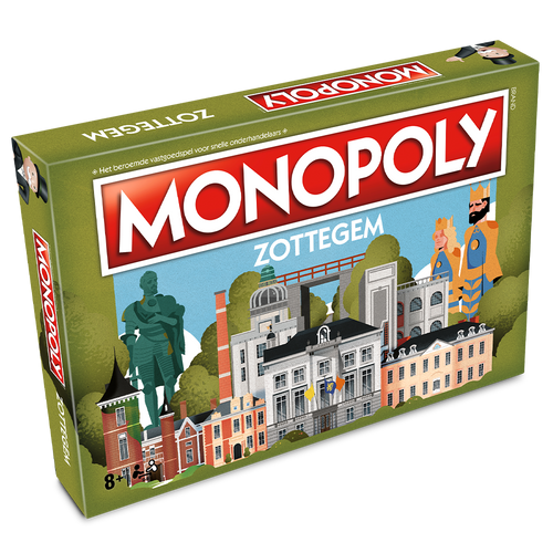 Monopoly Zottegem (levering in november 2021)