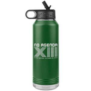 NO AGENDA 13 YEARS - 32 oz straw tumbler