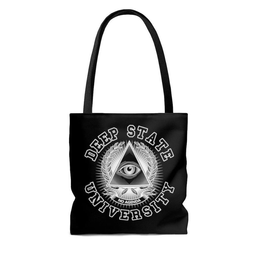 DEEP STATE UNIVERSITY - W - tote bag