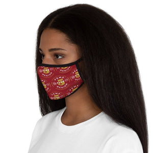 FEMA REGION FIVE - RED - fitted face mask