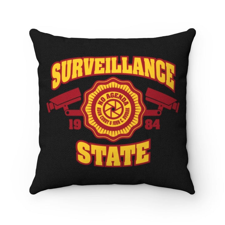 SURVEILLANCE STATE - throw pillow
