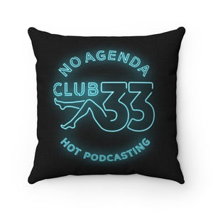 NO AGENDA CLUB 33 - throw pillow