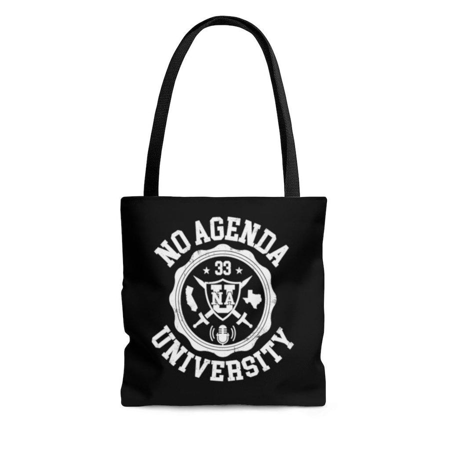 NO AGENDA UNIVERSITY - tote bag