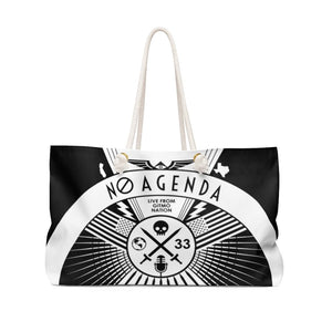 NO AGENDA RALLY - light - rope tote