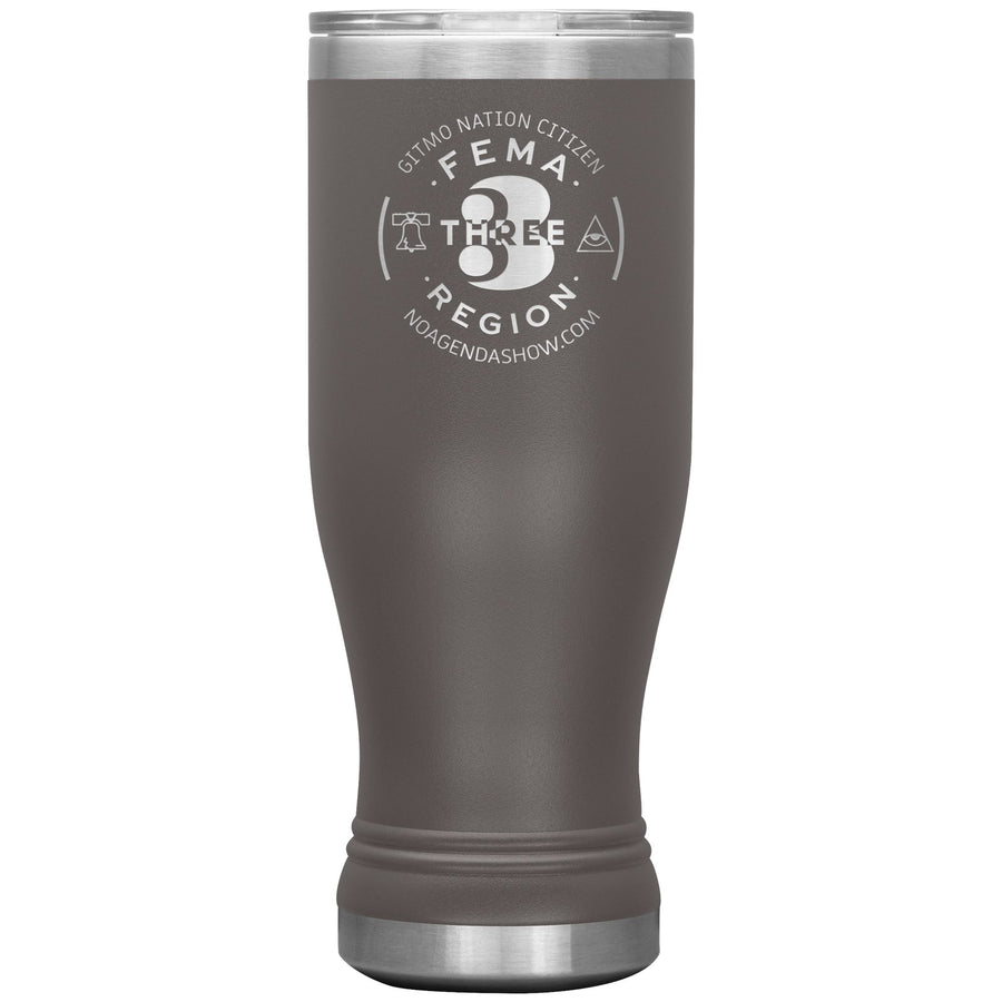 FEMA REGION THREE - 20 oz boho tumbler