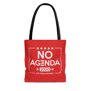 NO AGENDA 2020 - R - tote bag