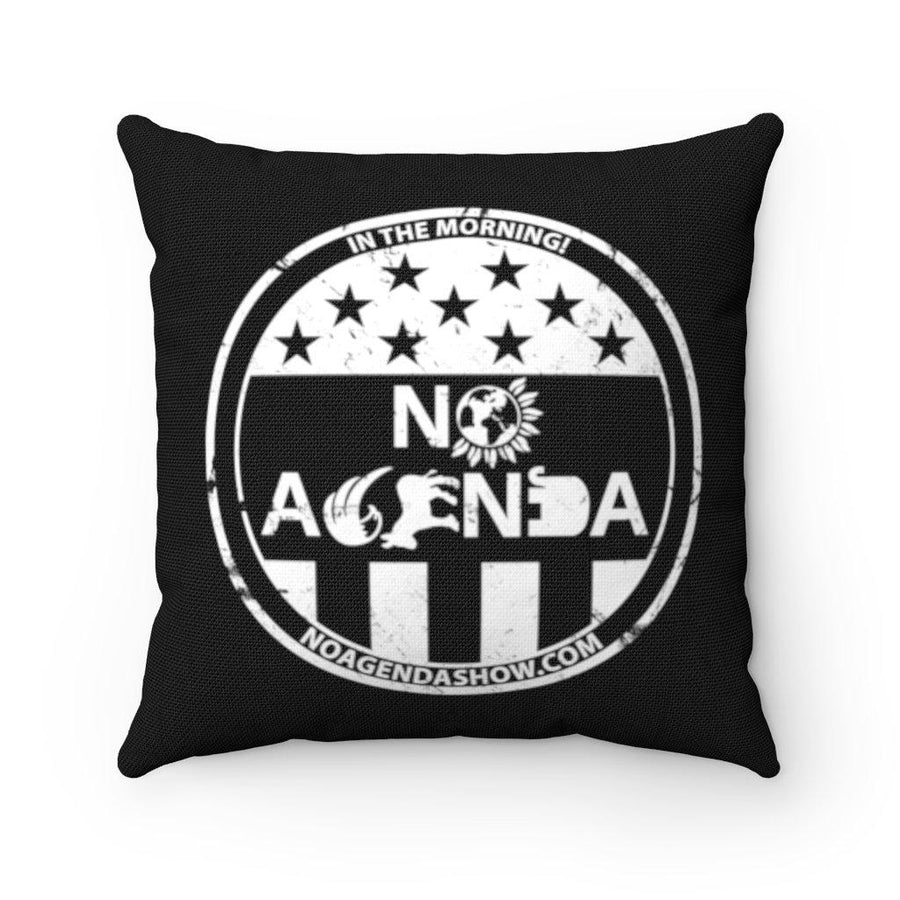 NO AGENDA PARTY TIME - throw pillow case