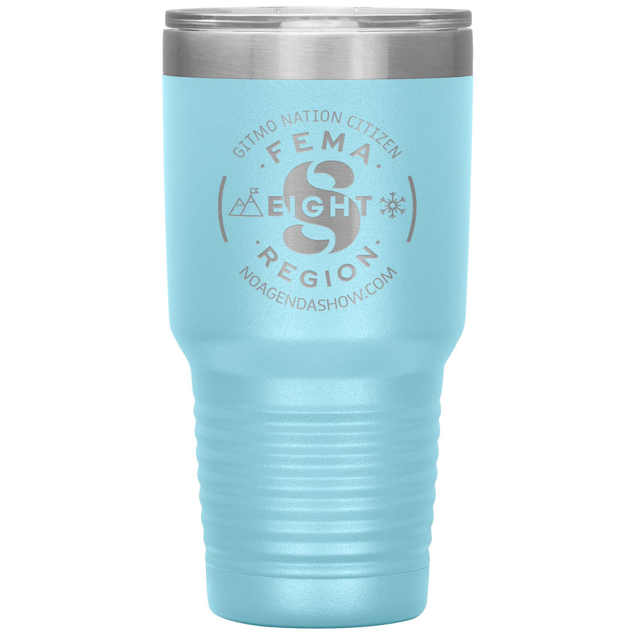 FEMA REGION EIGHT - 30 oz tumbler
