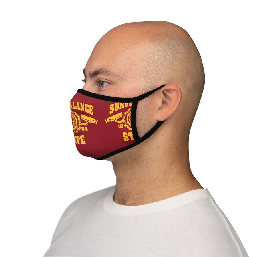 SURVEILLANCE STATE - RY - fitted face mask