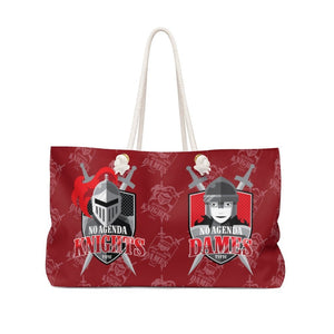 NO AGENDA KNIGHTS & DAMES - R - rope tote
