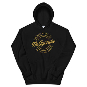 NO AGENDA THE BEST PODCAST - pullover hoodie