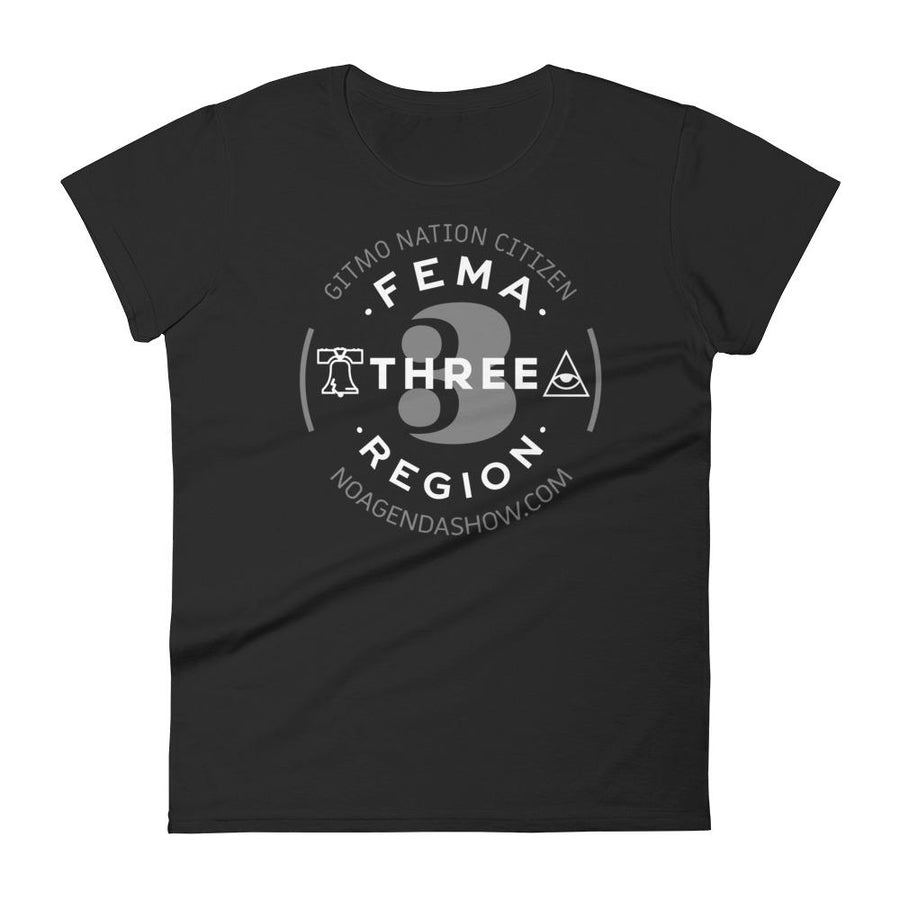 FEMA REGION THREE - womens tee