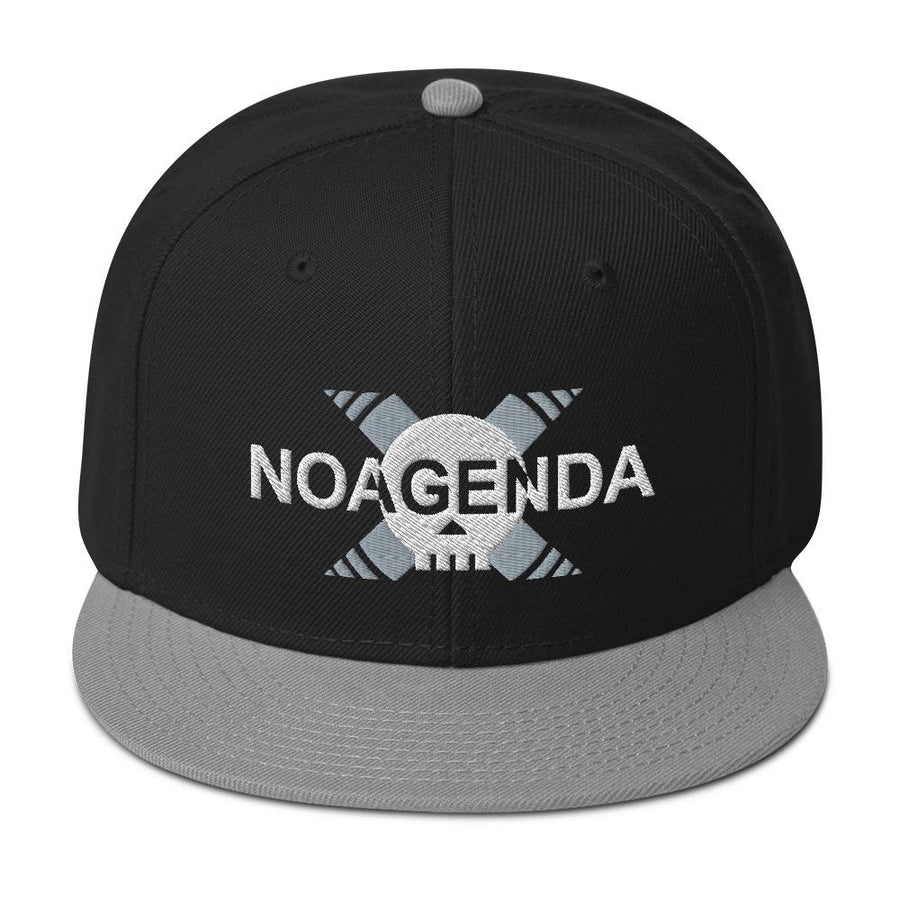 HEAR NO AGENDA - high snapback hat