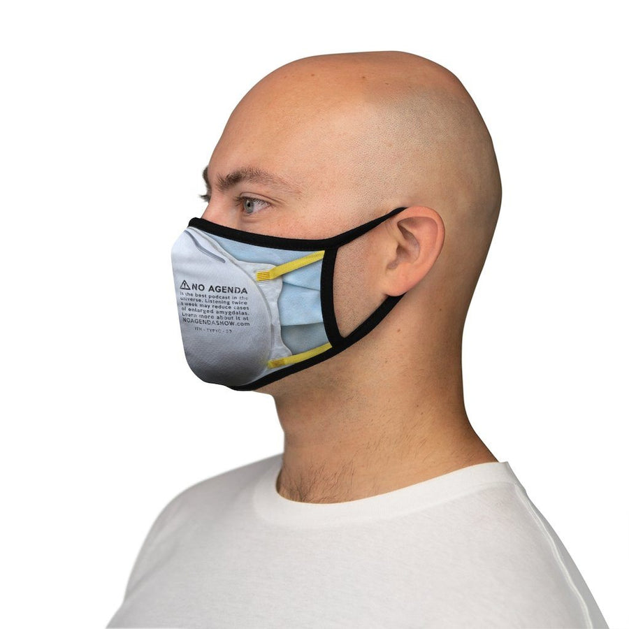 DOUBLE UP - fitted face mask