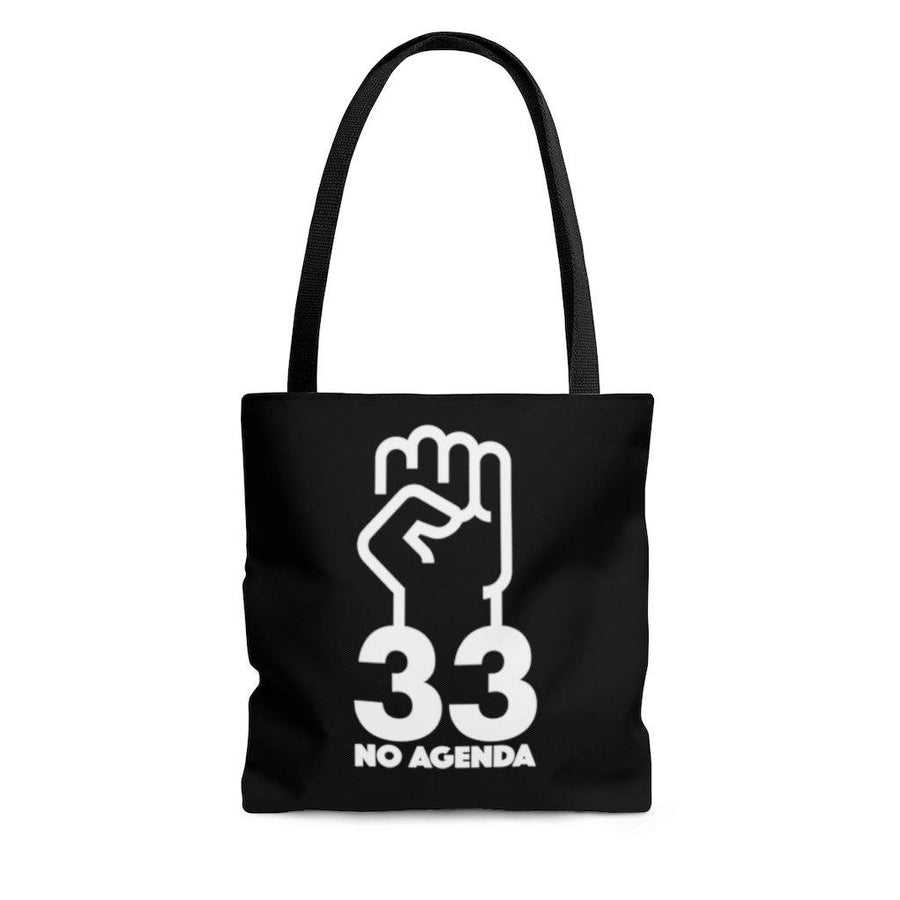 NO AGENDA 33 - B - tote bag