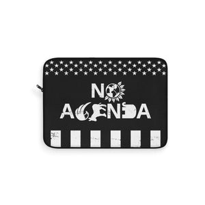 NO AGENDA PARTY TIME - S - laptop sleeve