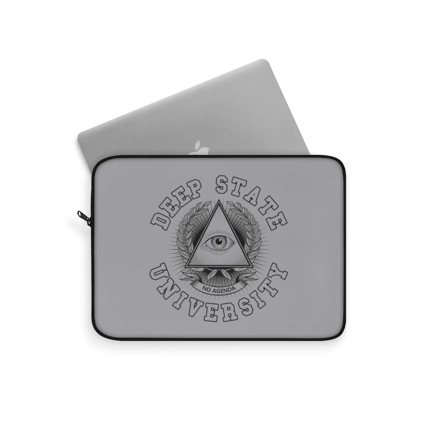 DEEP STATE UNIVERSITY - G - laptop sleeve
