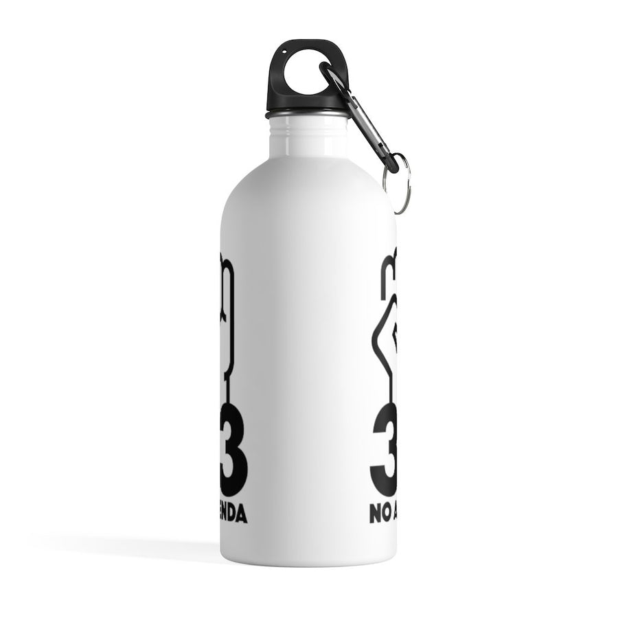 NO AGENDA 33 - 14 oz water bottle