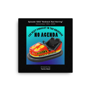 NO AGENDA 1303 - customizable canvas cover art