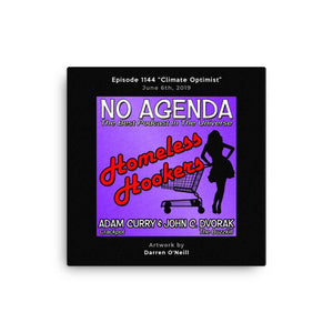 NO AGENDA 1144 - customizable canvas cover art